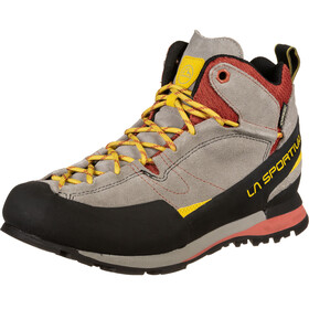 La Sportiva Boulder X Mid Shoes Men grey/red